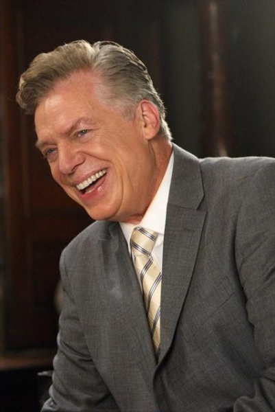 CHRISTOPHER MCDONALD at First Look - HAPPY ENDINGS' 'To Serb with Love,' Airs 12/11