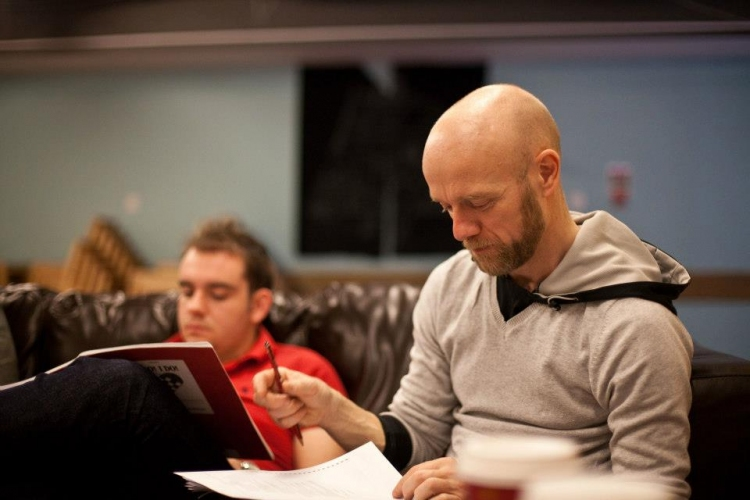High Res Director Matthew Gould and Matt Abrams MD. At the first rehearsal for I DO! I DO! www.scarabpictures.co.uk — with Matt Abrams and Matthew Gould at Covent garden