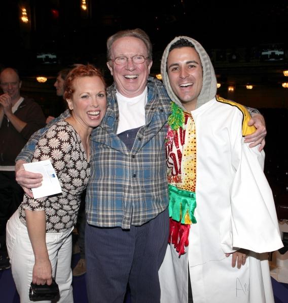 Carolee Carmello, George Hearn & Carlos L. Encinias