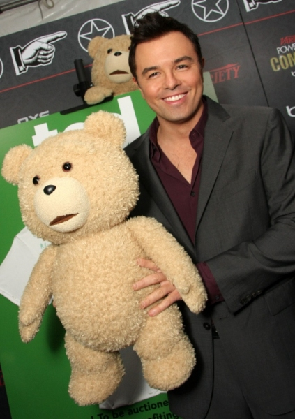 Seth MacFarlane at Variety's 3rd Annual Power of Comedy Event, Presented by Bing
