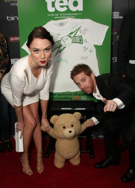 Clare Grant, Seth Green at Variety's 3rd Annual Power of Comedy Event, Presented by Bing