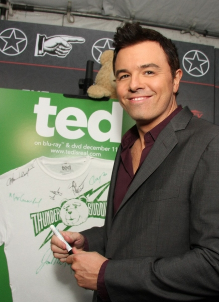 Photo Flash: Seth MacFarlane Honored at Variety's POWER OF COMEDY Awards