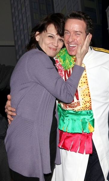 Timothy J. Alex  with Beth Leavel