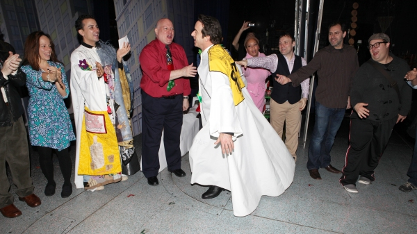 Timothy J. Alex  with Leslie Kritzer, Carlos L. Encinias in 'Scandalous The Musical', David Westphal, Eric LaJuan Summers, Ariel Reid & Company