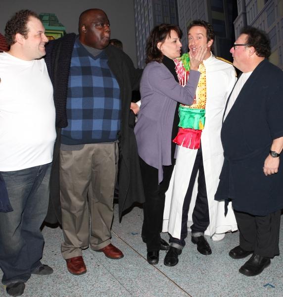 Timothy J. Alex  with Jordan Gelber, Michael Mandell, Beth Leavel, Wayne Knight