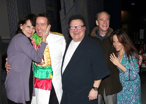Timothy J. Alex  with Beth Leavel, Wayne Knight, Mark Jacoby & Leslie Kritzer  Photo