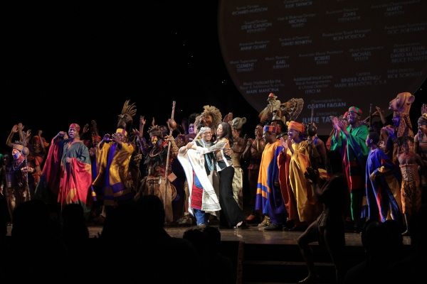 Photo Coverage: THE LION KING Celebrates 15 Years on Broadway!