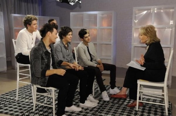 One Direction,Barbara Walters at First Look - MacFarlane, One Direction & More on '10 MOST FASCINATING PEOPLE OF 2012'