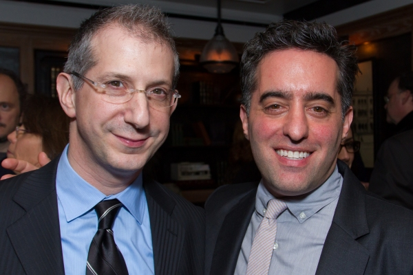 Director Barry Edelstein and playwright Nathan Englander  Photo
