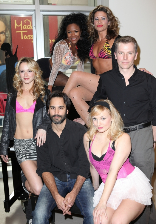 High Res (front row) Emily Padgett, Robbie Roth, kelly Felthous (back row) , DeQuina Moore , Rachelle Rak & Robert Cary