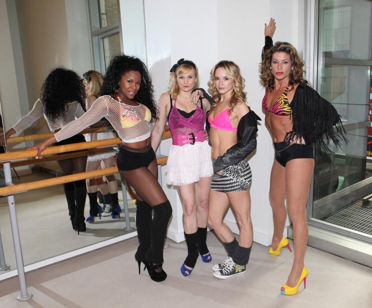 High Res DeQuina Moore, Kelly Felthous, Emily Padgett & Rachelle Rak
