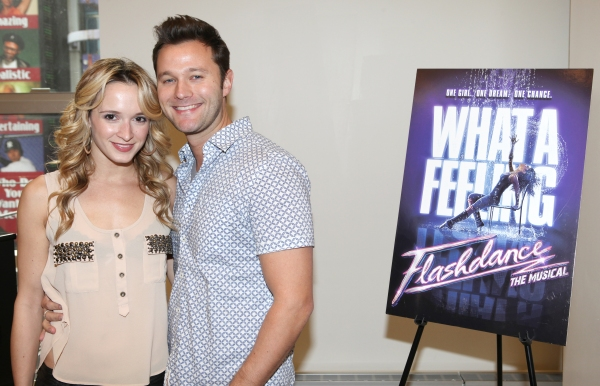 Photo Coverage: FLASHDANCE Cast Meets the Press!
