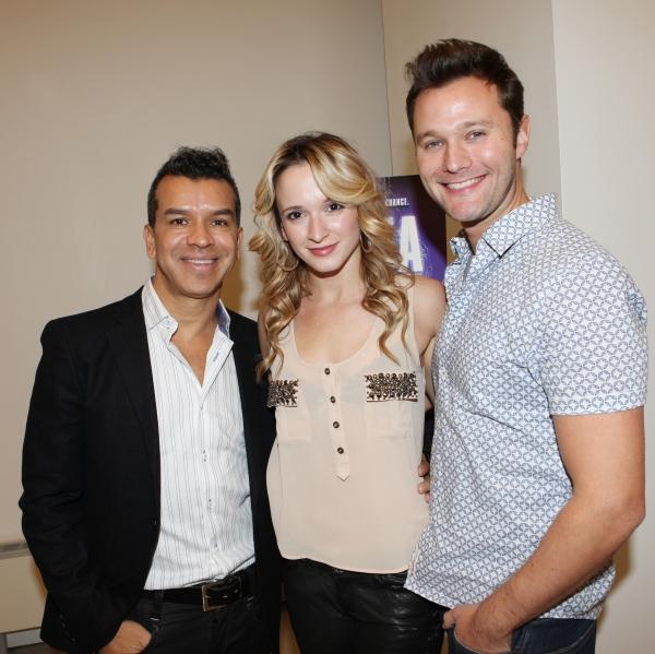 Sergio Trujillo, Emily Padgett & Matthew Hydzik