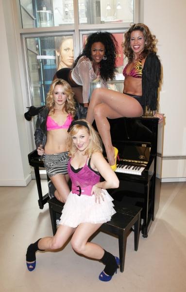 Kelly Feltous, Emily Padgett, DeQuina Moore & Rachelle Rak