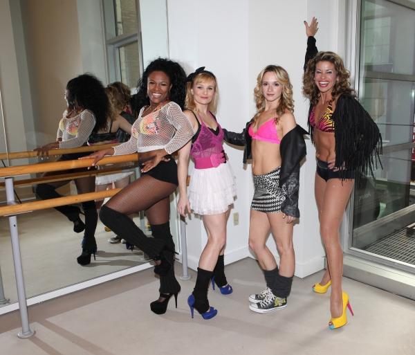 DeQuina Moore, Kelly Felthous, Emily Padgett & Rachelle Rak Photo