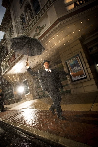 Photo Flash: Sneak Peek at Curt Dale Clark in Fulton Theatre's SINGIN IN THE RAIN