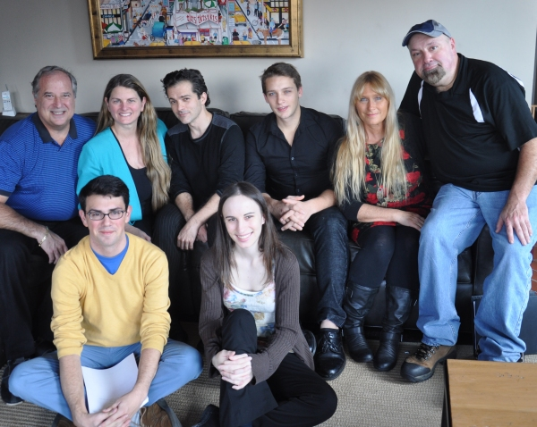 Stewart F. Lane, Bonnie Comley, Rob Pedini, Ian Biesinger, Kathy Curtis, Bob Bartlett, David Mangiamele, Alyssa Renzi at Stellar Productions' WHALES