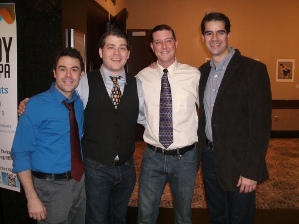 Frank J. Paul, Jonathan Wagner, Scott Stratton and Rod Thomas