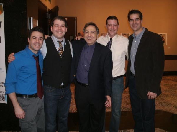 Frank J. Paul, Jonathan Wagner, William Pullinsi, Scott Stratton and Rod Thomas