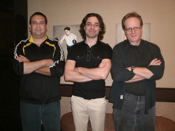 Jamie Martinez, Ethan Deppe and William A. Underwood Photo