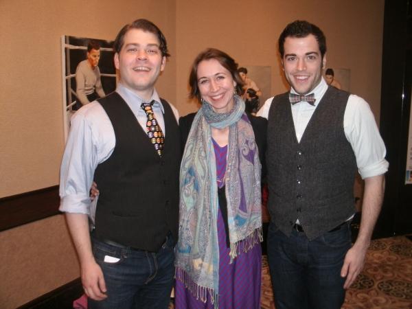 Jonathan Wagner, Brenda Winstead and Michael Richardson Photo
