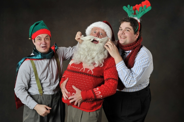 Photo Flash: First Look at Sierra Rep's EVERY CHRISTMAS STORY EVER TOLD...AND THEN SOME