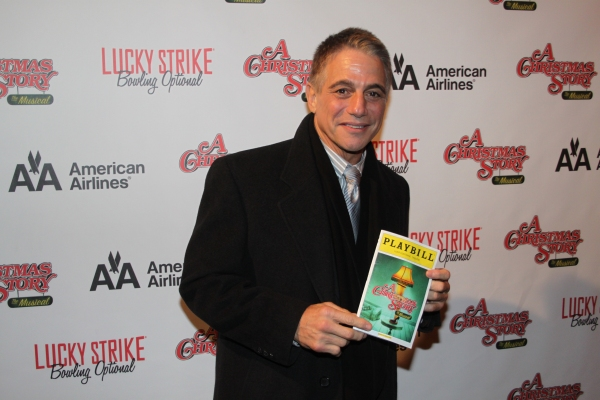 Tony Danza at A CHRISTMAS STORY Opening Night Party!