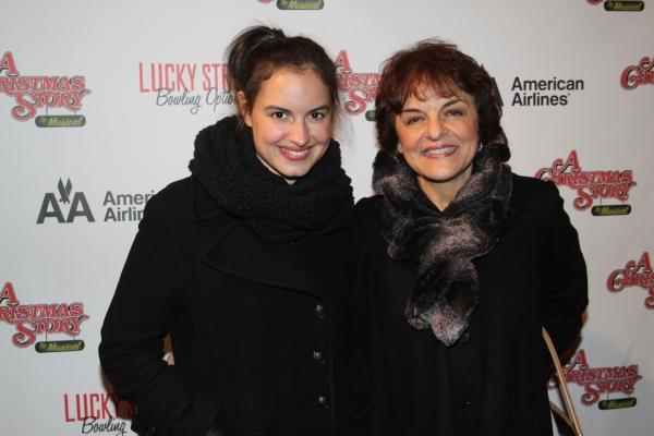 Gabriela Fanuele and Priscilla Lopez