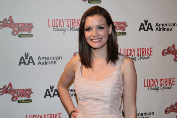 Jennifer Damiano at A CHRISTMAS STORY Opening Night Party!