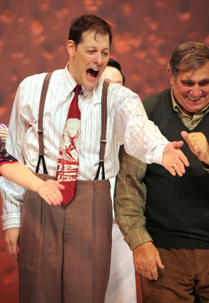 John Bolton & Dan Lauria at A CHRISTMAS STORY Opening Night Curtain Call!