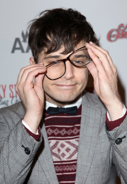 Andy Mientus at A CHRISTMAS STORY Opening Night Red Carpet - 'Ralphie Specs' Photo Booth Special!