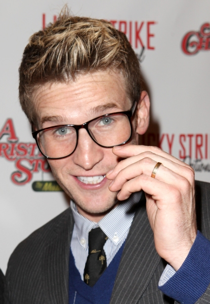 Photo Coverage: A CHRISTMAS STORY Opening Night Red Carpet - 'Ralphie Specs' Photo Booth Special!