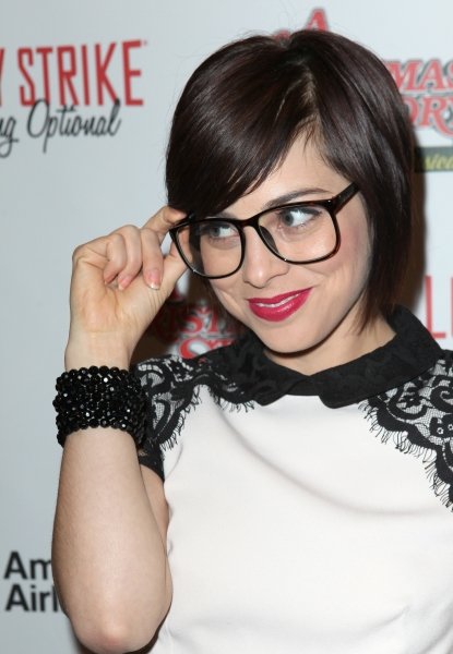 Krysta Rodriguez at A CHRISTMAS STORY Opening Night Red Carpet - 'Ralphie Specs' Photo Booth Special!