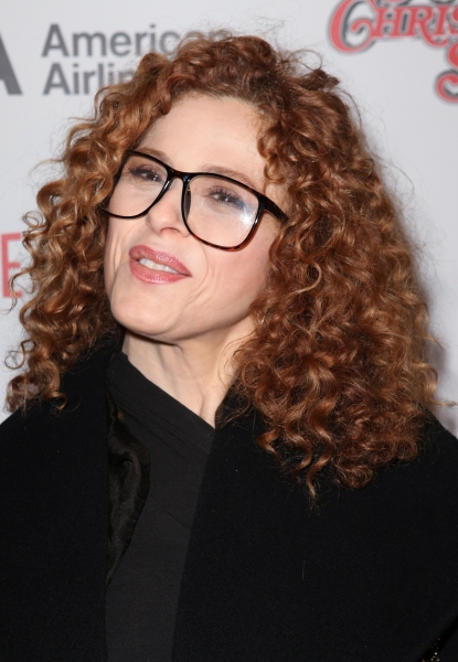 Bernadette Peters at A CHRISTMAS STORY Opening Night Red Carpet - 'Ralphie Specs' Photo Booth Special!
