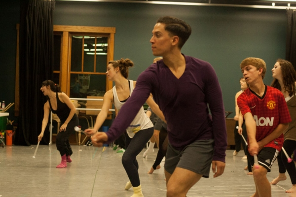 Photo Flash: Sneak Peek at Chase Brock, Arielle Campbell and More in Rehearsals for Flat Rock's THE NUTCRACKER
