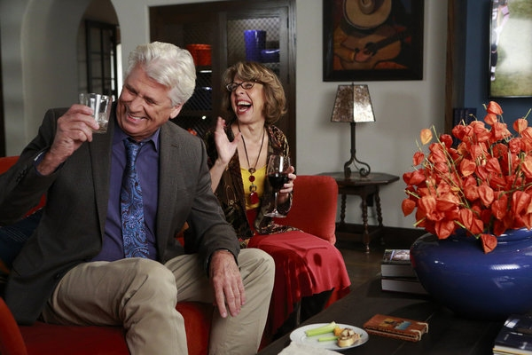 Barry Bostwick, Jackie Hoffman at THE NEW NORMAL's Thanksgiving Day Episode