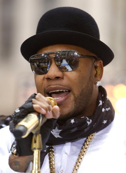Flo Rida at Flo Rida Performs on NBC's TODAY