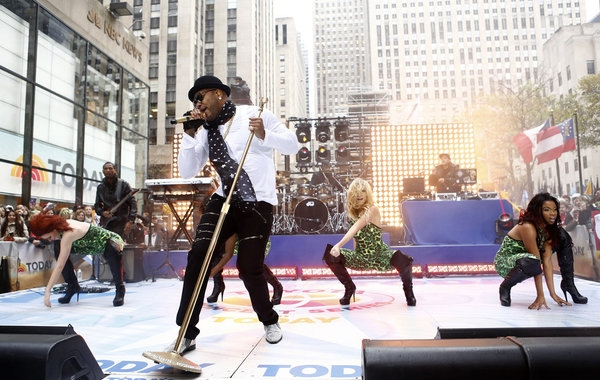 3 at Flo Rida Performs on NBC's TODAY