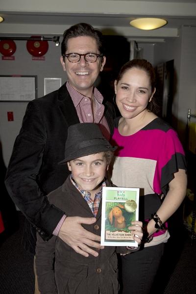 Peter Flynn, Andrea Burns and son Hudson