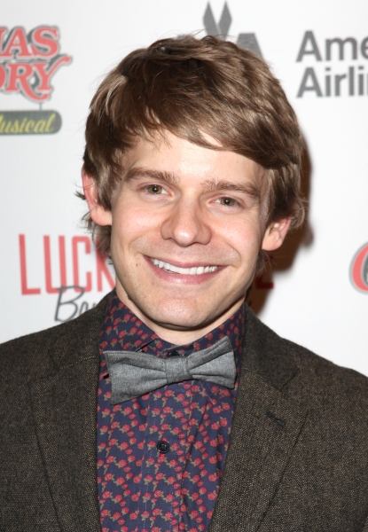 Andrew Keenan-Bolger  at A CHRISTMAS STORY's Opening Night Arrivals!