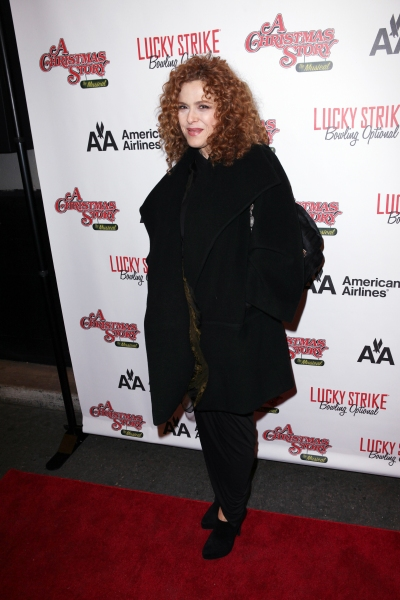 Bernadette Peters at A CHRISTMAS STORY's Opening Night Arrivals!