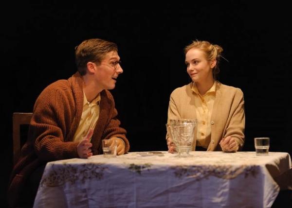 Gwilym Lee and Joanna Vanderham