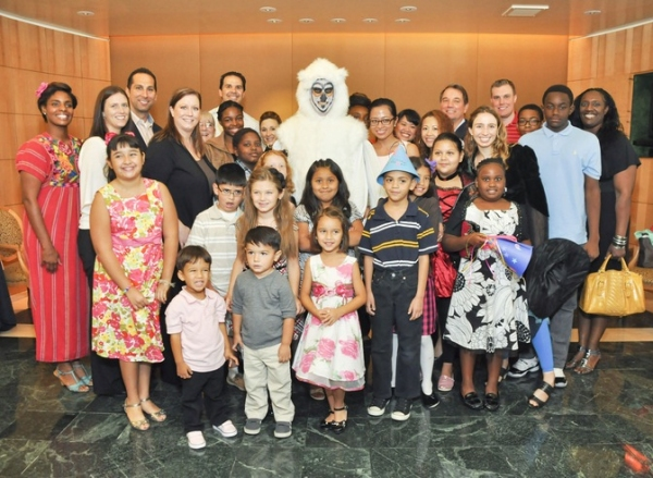 Photo Flash: The Houston Symphony Welcomes Big Brothers Big Sisters