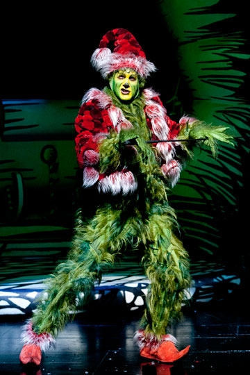 Photo Flash: First Look at Steve Blanchard and More in the Old Globe's HOW THE GRINCH STOLE CHRISTMAS