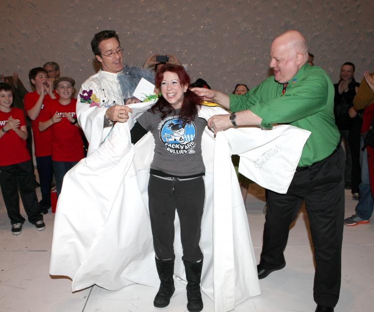 High Res Timothy J. Alex recipient for  'Elf The Musical' , Kirsten Wyatt & David Westphal