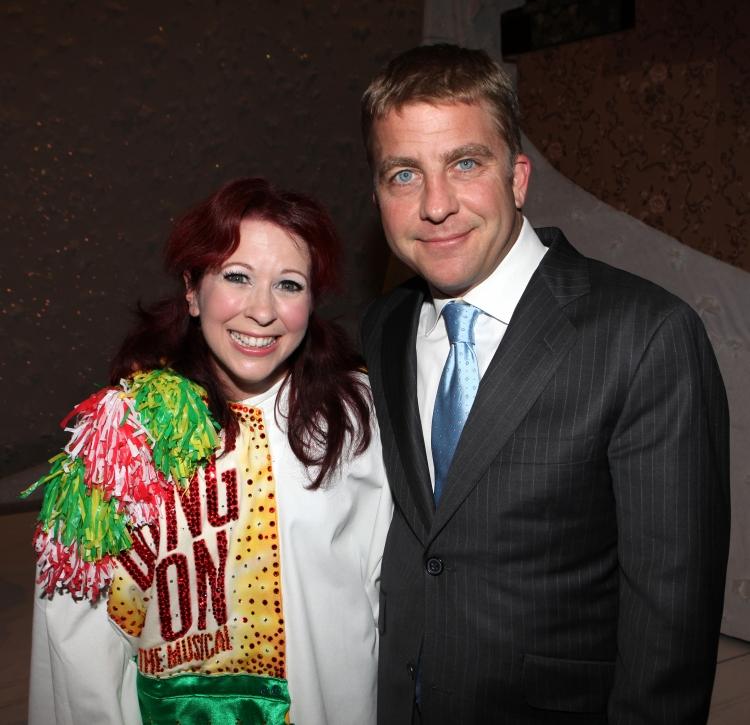 High Res Kirsten Wyatt & Peter Billingsley