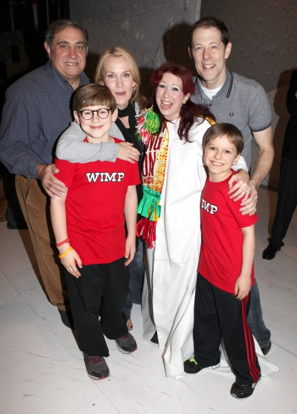 Kirsten Wyatt with Dan Lauria, Erin Dilly, Johnny Rabe, John Bolton & Zac Ballard