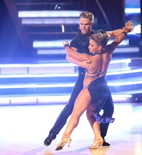 Derek Hough,Shawn Johnson