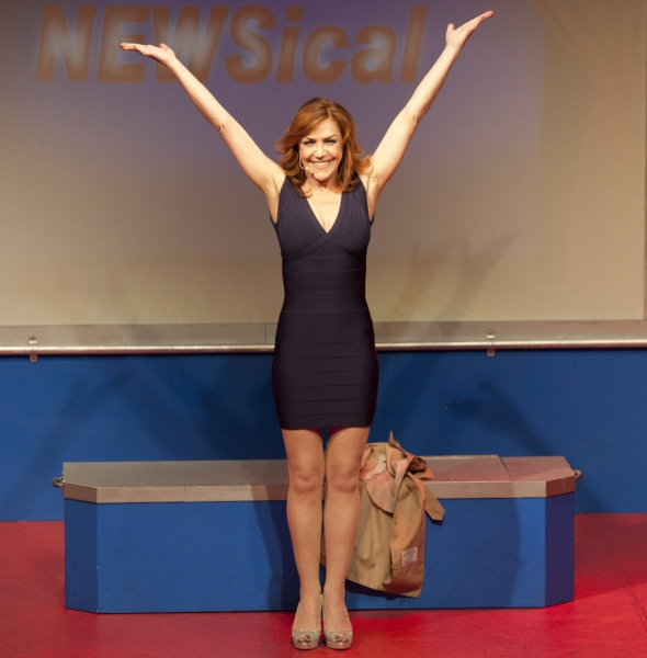 Photo Flash: First Look at Andrea McArdle in NEWSICAL!