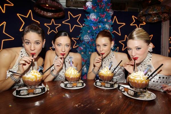 Rockette Jeanna Logan Cargill, Rockette Corinne Tighe, Rockette Brigid Cash, Rockette Alli Lehr